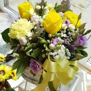 Kvetinový box AnaFiori 19