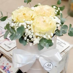 Kvetinový box Ruže AnaFiori 11