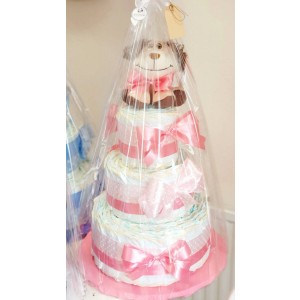 Handmade výrobky na želanie Plienkové torty 1