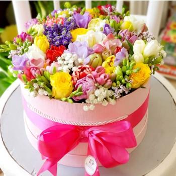 Kvetinový box AnaFiori 10