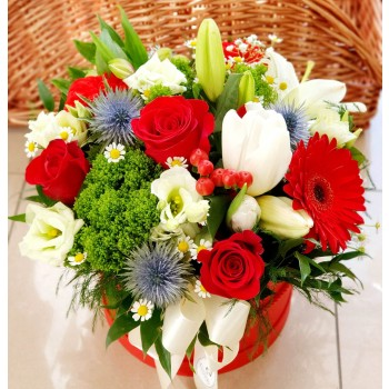 Kvetinový box AnaFiori 2