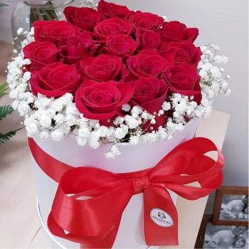 Kvetinový box Ruže AnaFiori 2