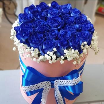 Kvetinový box Ruže AnaFiori 5