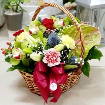 Kvetinový košík Ana Fiori 02