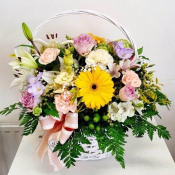 Kvetinový košík Ana Fiori 03