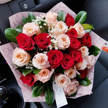 Kytica AnaFiori Ruže 8