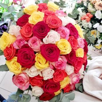 Kytica AnaFiori Ruže 2