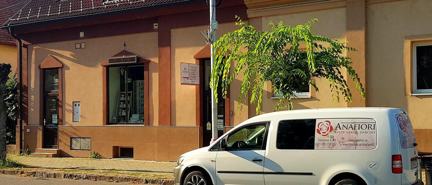 anafiori Kamenná predajňa